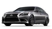 Lexus LS restylée : Forte en gueule