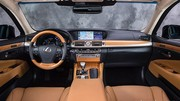 Lexus LS600h: mise à jour stylistique et dynamique, stop