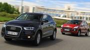 Essai Audi Q3 2.0 TDI 140 vs Peugeot 3008 2.0 HDi 150 : Classe compacte