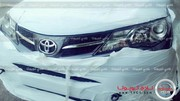 Le futur Toyota RAV4 2013 débusqué