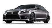 Lexus LS 2012 : plus de dynamisme