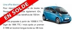Prix Peugeot iOn : Dernière démarque avant liquidation ?