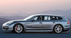 Il y aura bien une Porsche Panamera break au Mondial de Paris 2012