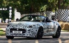Jaguar F-Type : présentation officielle au Mondial Auto 2012
