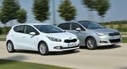 Essai Citroën C4 vs Kia Cee'd : concurrence déloyale ?