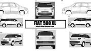 Mondial de Paris 2012 : La nouvelle Fiat 500 XL y serait