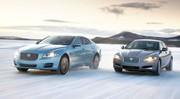 Jaguar XF et XJ : 4 roues motrices !