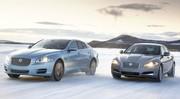 Les Jaguar XJ et XF passent aux quatre roues motrices