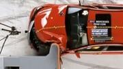 Volvo et Honda brillent au nouveau test de choc frontal américain de l'IIHS