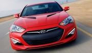 Hyundai Genesis Coupé restylé : 347 ch pour 37 900 euros