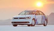 Record de vitesse pour la Volkswagen Jetta hybride