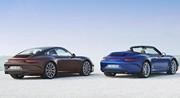 Porsche 911 Carrera 4 et 4S : Encore plus motrices