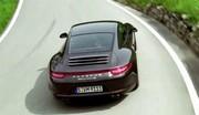 La nouvelle Porsche 911 Carrera 4S en mouvement