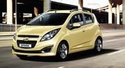 La Chevrolet Spark restylée pour le Mondial 2012