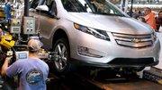 Chevrolet Volt : la production suspendue pendant quatre semaines