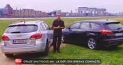 Emission Turbo : Tesla Model S, Chevrolet Cruze SW, Ford Focus SW