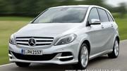La Mercedes classe B adopte le gaz naturel carburant