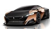 Peugeot ONYX Concept : Sauvage et hybride