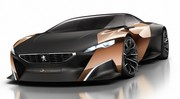 Peugeot Onyx concept: un V8 hybride de plus de 600 ch!