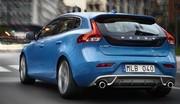 Volvo V40 R-Design : Blue Suède Car