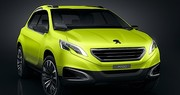 Le concept Peugeot 2008 inaugure le 3 cylindres turbo