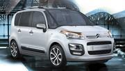 Restylage Citroën C3 Picasso : Menues retouches