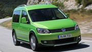 Volkswagen Caddy Cross : Le Caddy des champs !