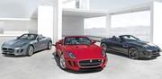 La Jaguar F-Type surprise en famille
