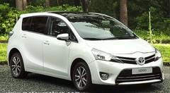 Le Toyota Verso nettement amélioré