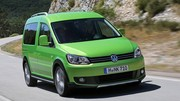 Volkswagen Cross Caddy : panier garni