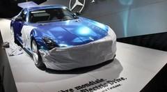 La Mercedes SLS AMG Electric Drive en scoop