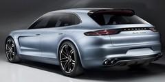 Porsche Panamera Sport Turismo Concept : Mercedes en ligne de mire