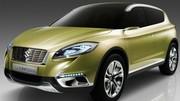 Le Suzuki S-Cross annonce un concurrent du Nissan Qashqai