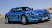 Mercedes SLS AMG Electric Drive : Chaaaaaargeeeeeeez !