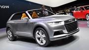 Audi Crosslane Concept : Un Evoque dans le viseur !