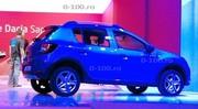 Le Dacia Sandero Stepway se montre déjà