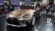 Lexus dévoile un futur coupé 4 places avec la LF-CC