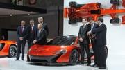 McLaren P1 : La star du salon