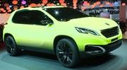 Le Peugeot 2008 Concept, il brille dans le noir