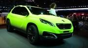 Peugeot fait flasher son 2008 Concept