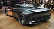 La Peugeot Onyx de cuivre et de carbone