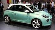 Opel Adam : les photos du Mondial et les tarifs