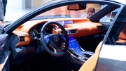 Lexus LF-CC et son interface homme-machine innovante