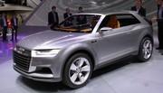 Audi prépare son Q2 avec le concept Crosslane Coupé