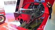 La Ferrari F70 représentée par sa coque carbone