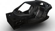 Le châssis de la remplaçante de la Ferrari Enzo dévoilé