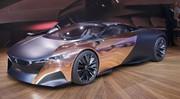 Peugeot Onyx : L'art et la matière