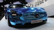 La Mercedes SLS AMG Electric Drive est électrisante