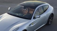 Ferrari FF 2013 : un grand toit vitré pour la GT italienne