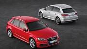 Prix nouvelle Audi A3 Sportback : Sur un pied d'égalité